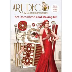 Debbi Moore Art Deco Card Kit - Rome