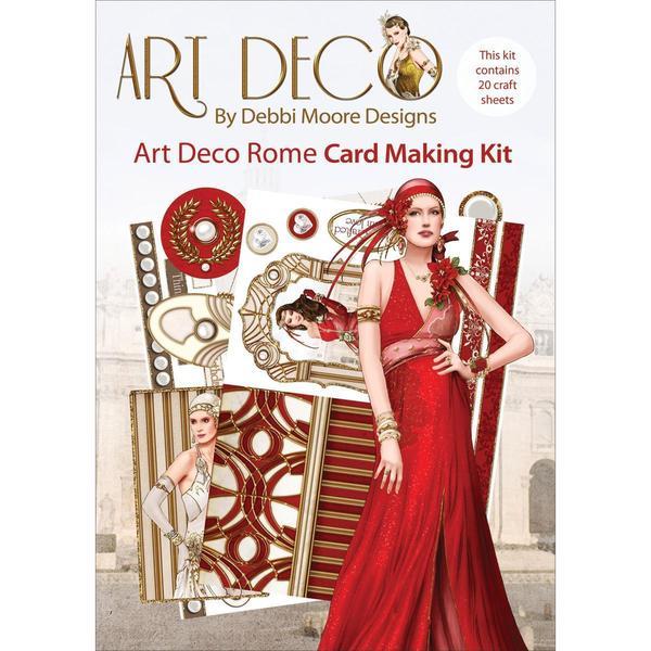 Debbi Moore Art Deco Card Kit - Rome