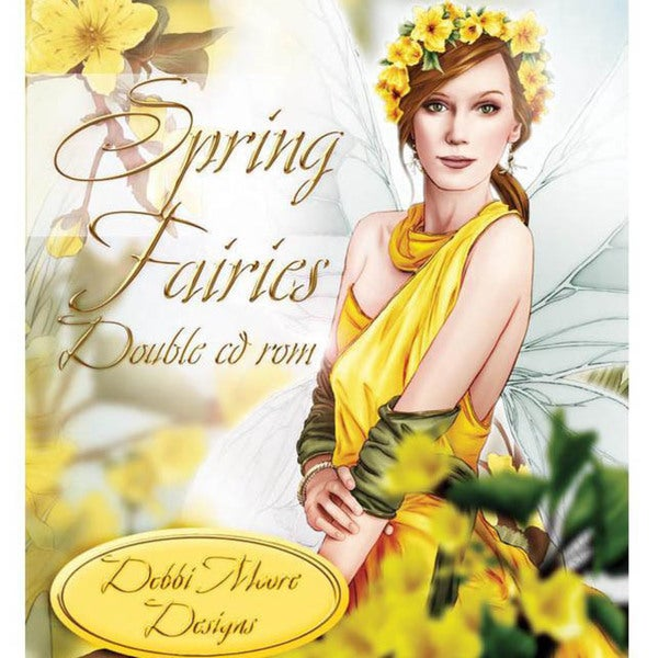 Debbi Moore Enchantment Double CD Set - Spring Fairies