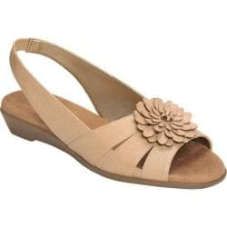 Women's A2 by Aerosoles Copy Cat Nude Faux Leather