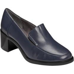 Women's Aerosoles Heartthrob Dark Blue Leather