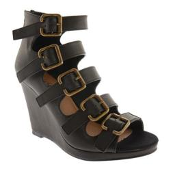 Women's Michael Antonio Alyson Black Polyurethane