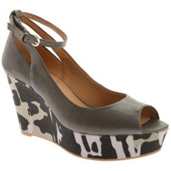 Women's Nine West Cosette Dark Grey Leather