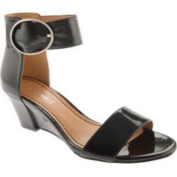 Women's Nine West Ventana Black/Black Leather