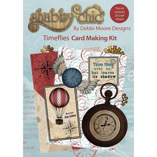 Debbi Moore Shabby Chic Card Kit - Time Flies