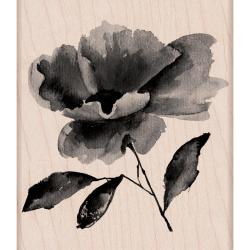 Hero Arts Mounted Rubber Stamps 4 X3 - Painted Flower