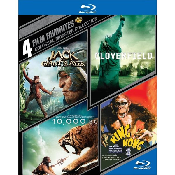4 Film Favorites: Colossal Monster Collection (Blu-ray Disc) 12602625