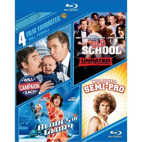 4 Film Favorites: Will Ferrell (Blu-ray Disc) 12602626