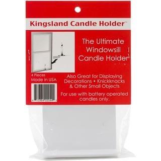 Kingsland Candle Holders 4/Pkg - White
