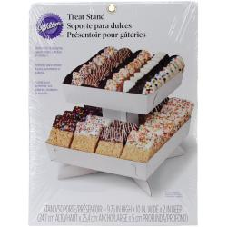 Candy Melt Treat Stand Tray - White 12 X9