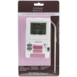 All Purpose Digital Thermometer & Timer -