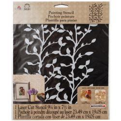 Folkart Painting Stencils 8.5 X10 - Climbing Vine