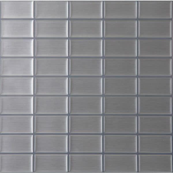 mosaic self adhesive vinyl wall tile 1 tile 82 sq ft
