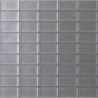 Magic Gel Stainless Steel Mosaic Tile
