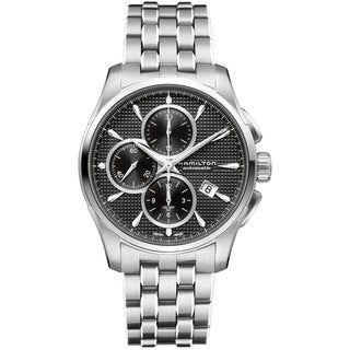 Hamilton Men's 'Jazzmaster' Stainless Steel Automatic Chronograph Watch