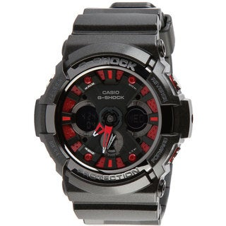 Casio G-Shock Men's Black/ Red Resin Watch