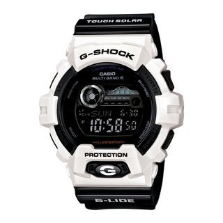 Casio Men's 'G-Shock' Black Dial Solar Digital Watch