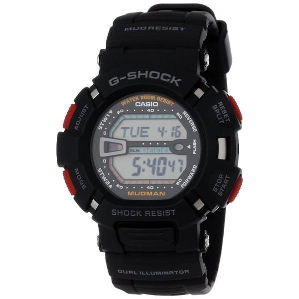 Casio Men's G-Shock Black Digital Watch