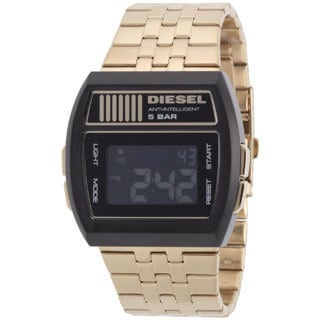 Diesel Men's DZ7195 Goldtone Digital Watch
