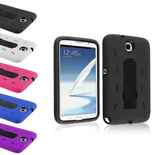 BasAcc Hybrid Hard/ Soft Stand Cover Case for Samsung Galaxy Note 8.0 N5100