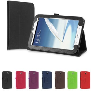 BasAcc PU Folio Leather Stand Cover Case for Samsung� Galaxy Note 8.0 N5100