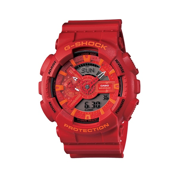 Casio G-Shock Men's Red Digital/ Analog Watch