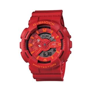 Casio G-Shock Men's Red Digital/ Analog Watch
