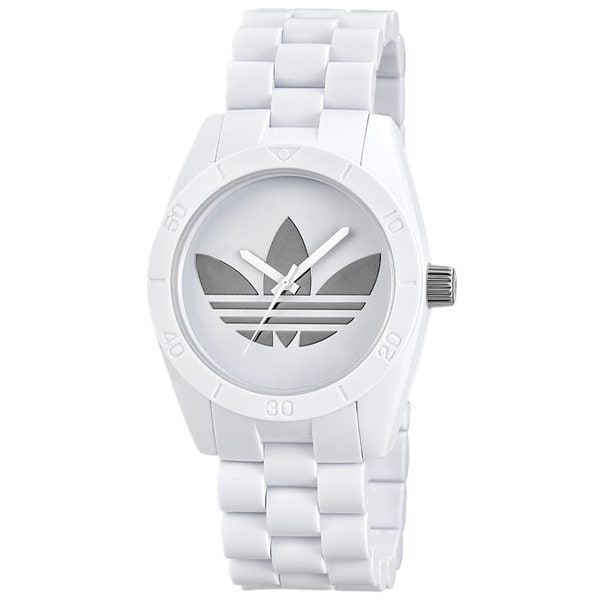 Adidas Santiago White Chronograph Watch
