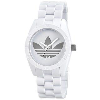 Adidas Santiago White Chronograph Watch
