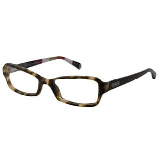 Coach Readers Women's Quinn Rectangular Reading Glasses