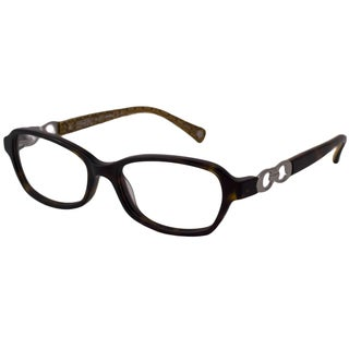 Coach Readers Women's Vanessa Rectangular Reading Glasses