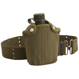 Coleman Military Style Canteen and Belt
