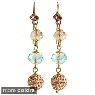 Sweet Romance Long Slinky Bead Earrings