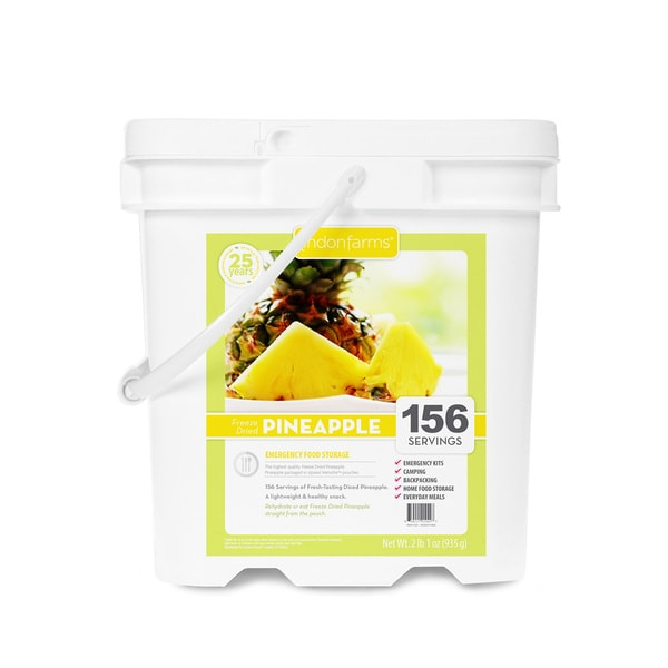 Lindon Farms 156-serving Freeze Dried Pineapples 12604855