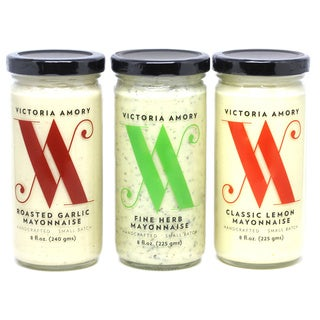 Victoria Amory Mayonnaise Collection (Pack of 3 Jars)