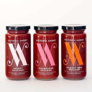 Victoria Amory Ketchup Collection (Pack of 3 Jars)