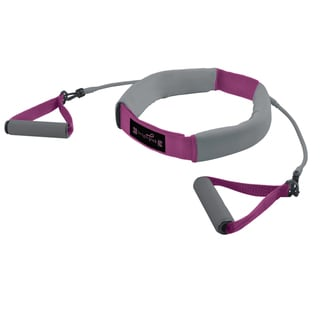 ZoN Pink Weighted Walking Belt and Resistance Tubes