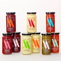 Victoria Amory Condiment Collection (Pack of 9 Jars)