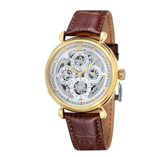 Earnshaw Men's Grand Calendar Skeleton Chronograph Watch