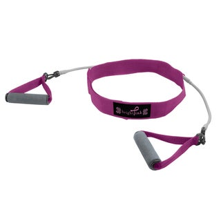 Zon Pink Walking Belt and Resistance Tubes