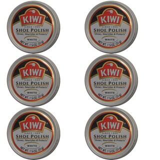 Kiwi White Shoe Polish (Pack of 6)