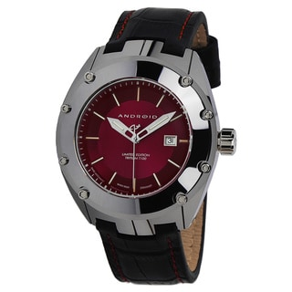 Android Men's Virtuoso Red Dial Tungsten Automatic Watch