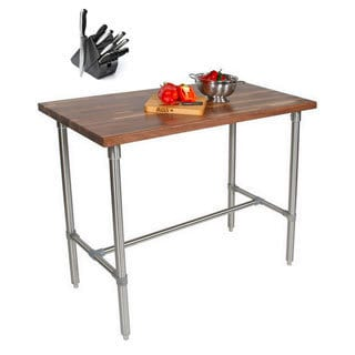 John Boos Walnut Cucina Americana Classico 48x24x40 Table and Bonus Cutting Board