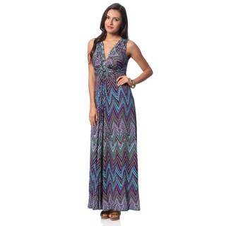 Chelsea & Theodore Women's Praia Print Maxi Dress