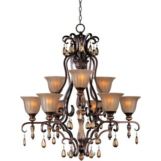 Dresden 9-light Bronze Chandelier