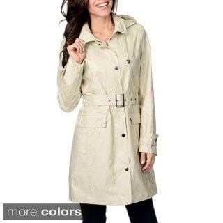 Nuage Women's 'Austin' Belted Short Coat