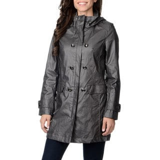 Nuage Women's 'Austin' Smoke Double Breasted Coat