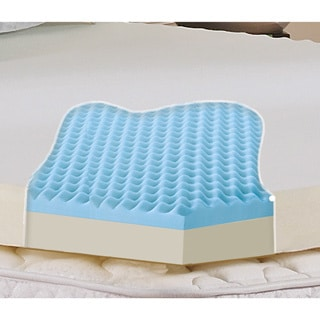 Broyhill Classic Dual-layer 3-inch Gel Memory Foam Mattress Topper with Washable Cover