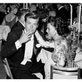 Robert Wagner and Natalie Wood at Oscar Dinner 1959 Frank Worth Lithograph