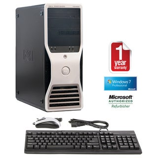 Dell Precsion T5400 Dual Quad Core Intel Xeon 2.5GHz 4GB 1TB Windows 7 Pro 64-bit Minitower Computer (Refurbished)